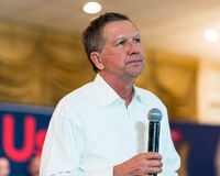 Ohio regulator John Kasich Arkivfoto