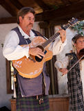 Ohio Renaissance Festival Musicians Stock Photo