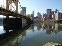 Ohio River Bridge Pittsburgh Stock Photos