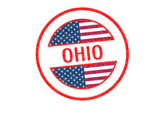 OHIO Rubber Stamp Royalty Free Stock Image
