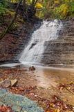 Ohio's Buttermilk Falls Stock Images