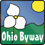 Ohio Scenic Byway Royalty Free Stock Photo