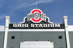 Ohio Stadium on Campus of The Ohio State University