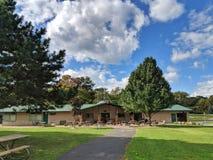Ohio stanu parków Mablehead schronienia Wschodniego obozu Zmielony biuro obrazy royalty free