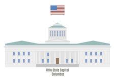 Ohio State Capitol in Columbus Stock Image