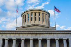 Ohio Statehouse, in Columbus, Ohio stock fotografie
