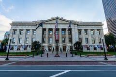 The Ohio Statehouse in Columbus, Ohio.  stock photo