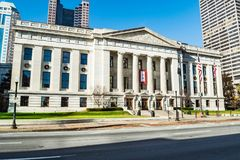 Ohio Statehouse senata wejście zdjęcia stock