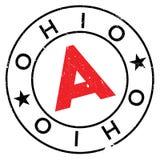 Ohio-Stempelgummischmutz Lizenzfreies Stockbild