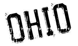 Ohio-Stempelgummischmutz Stockbild