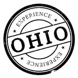Ohio-Stempelgummischmutz Lizenzfreie Stockfotos