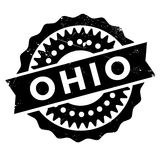 Ohio-Stempelgummischmutz Stockfoto
