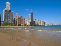 Ohio Street Beach, Chicago Stock Photo