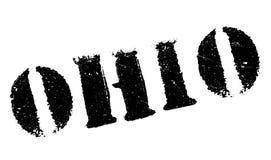 Ohio znaczka gumy grunge Obrazy Stock