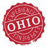 Ohio znaczka gumy grunge Zdjęcia Stock