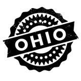 Ohio znaczka gumy grunge Zdjęcie Stock