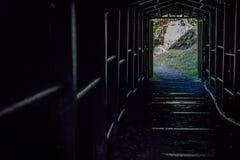 Ohkubo Mineshaft wejście, Shimane, Japonia zdjęcie stock