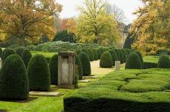 Ohlsdorf cmentarz Zdjęcia Royalty Free