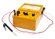 Ohm meter stock photography