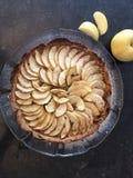 Ohne Gluten Apfelkuchen lizenzfreie stockbilder