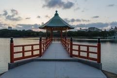 Ohori Park Pagoda Royalty Free Stock Photography