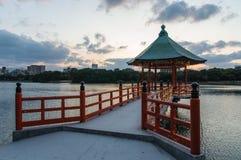 Ohori Park Pagoda Stock Photos