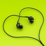 In-Ohr-Kopfhörer-Zusammensetzung Stockbilder
