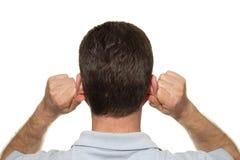 Ohr Reflexology stockbild