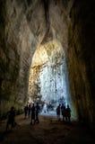 Ohr von Dionysius in Siracusa, Sizilien, Italien Stockfotografie