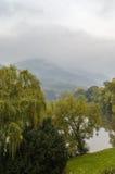 Ohre river, Czech republic Stock Photo