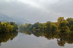 Ohre river, Czech republic Stock Images