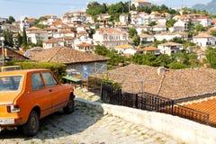 Ohrid视图-马其顿 免版税图库摄影