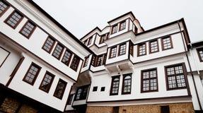 ohrid музея здания стоковое фото