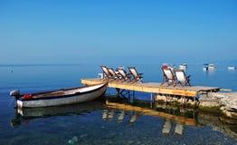ohrid озера стоковое изображение