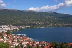 Ohrid湖 库存照片