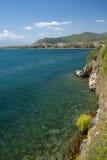 湖ohrid 库存图片