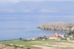 Ohrid Albania Europa del lago Fotografia Stock