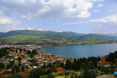Ohrid - background Stock Photo