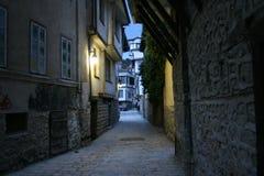 Ohrid gator Royaltyfri Fotografi