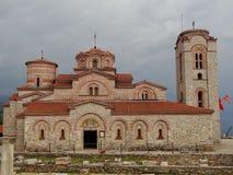 Ohrid kościół Zdjęcie Stock