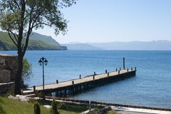 Ohrid lake Stock Photography