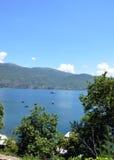 Ohrid Lake Royaltyfria Foton