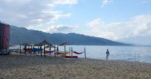 Ohrid Lake, Albania Stock Photography