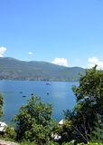 Ohrid Lake Royalty Free Stock Photos