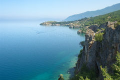 Ohrid Lake, Republic Of Macedonia Stock Photography