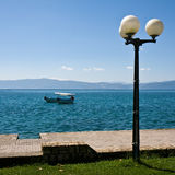 Ohrid Lake Scene Royalty Free Stock Photography