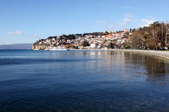 Ohrid lake Stock Images