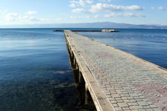 Ohrid lake Royalty Free Stock Photos