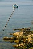 Ohrid laken Fotografering för Bildbyråer