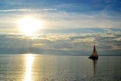 Ohrid landskap Royaltyfria Bilder